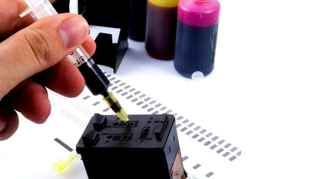 Recarga de Cartuchos para Impressoras
