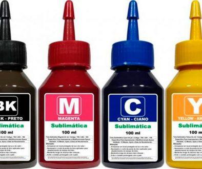 Tintas Sublimáticas para Impressoras em BH